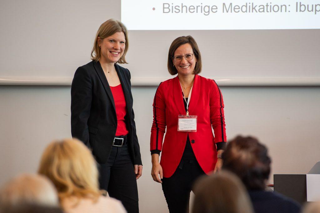 Dr. Katja Renner und Pharm.D. Ina Richling