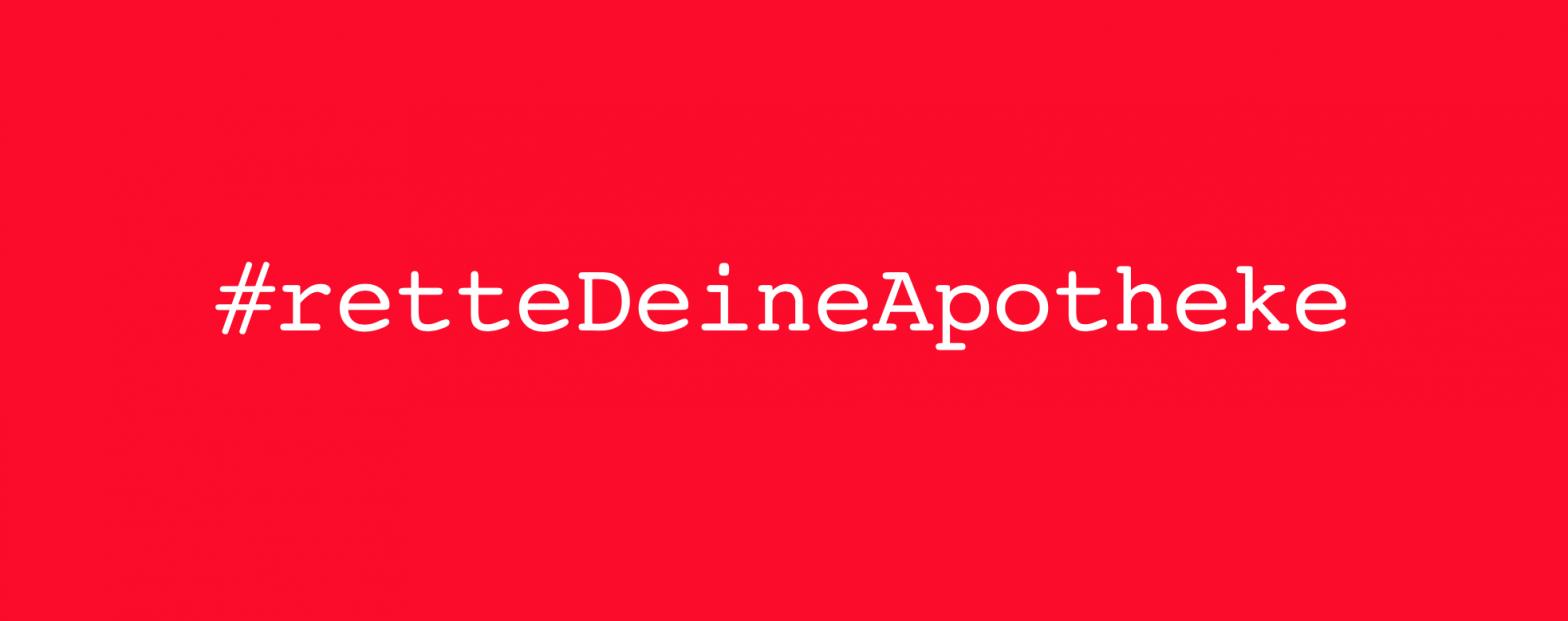 Banner #retteDeineApotheke