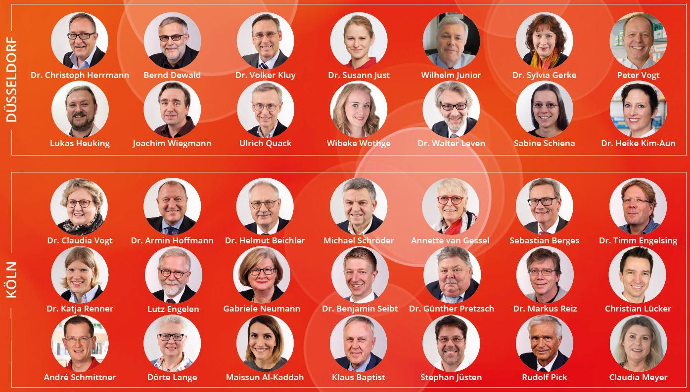 IN-Kandidaten in Düsseldorf und Köln