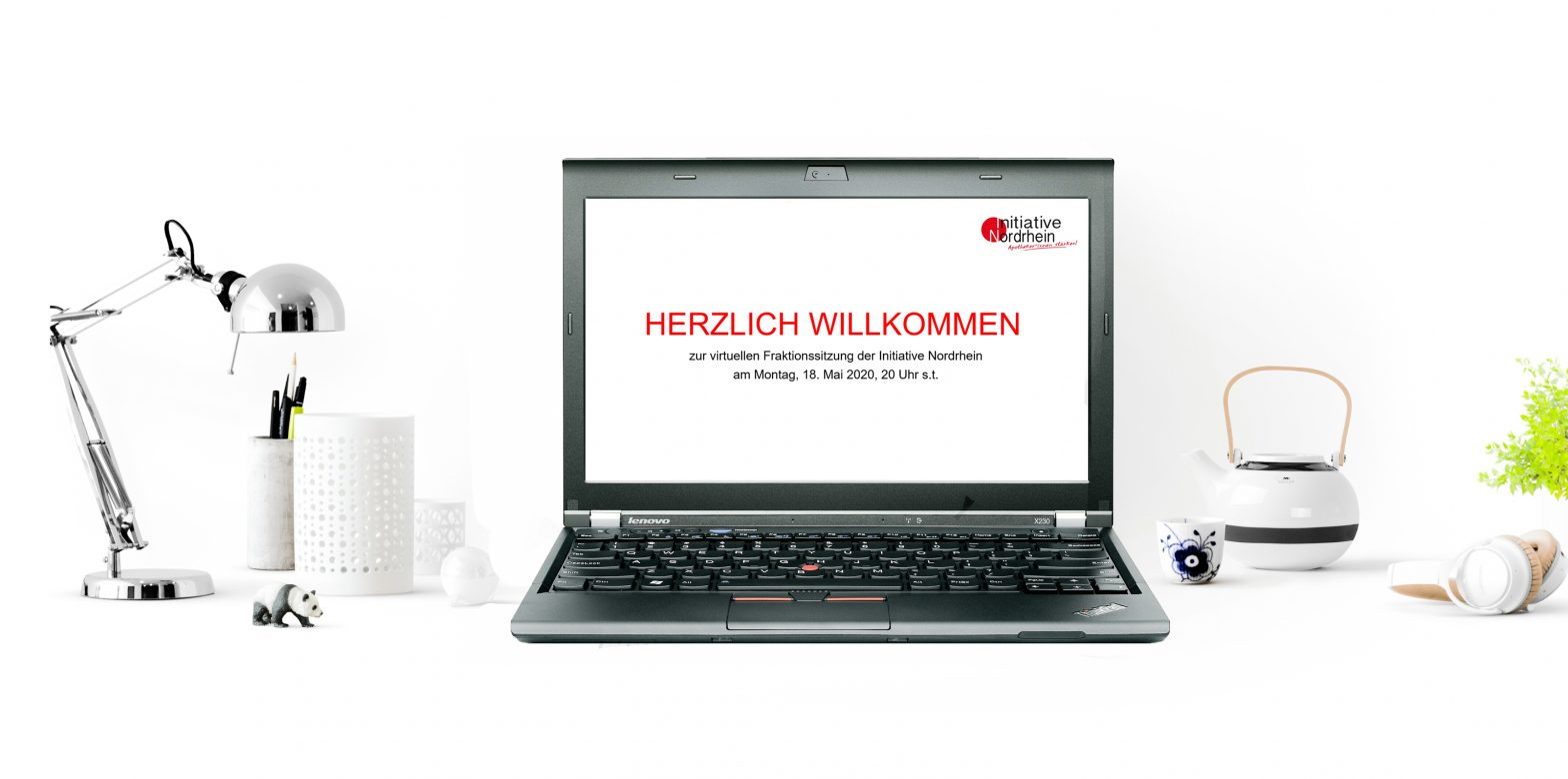 Virtuelle Fraktionssitzung am 18.05.2020