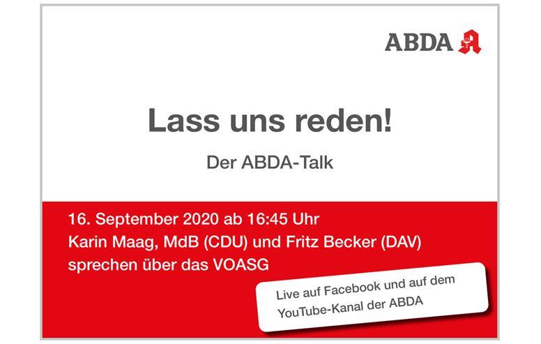 Lass uns reden! - Der ABDA-Talk
