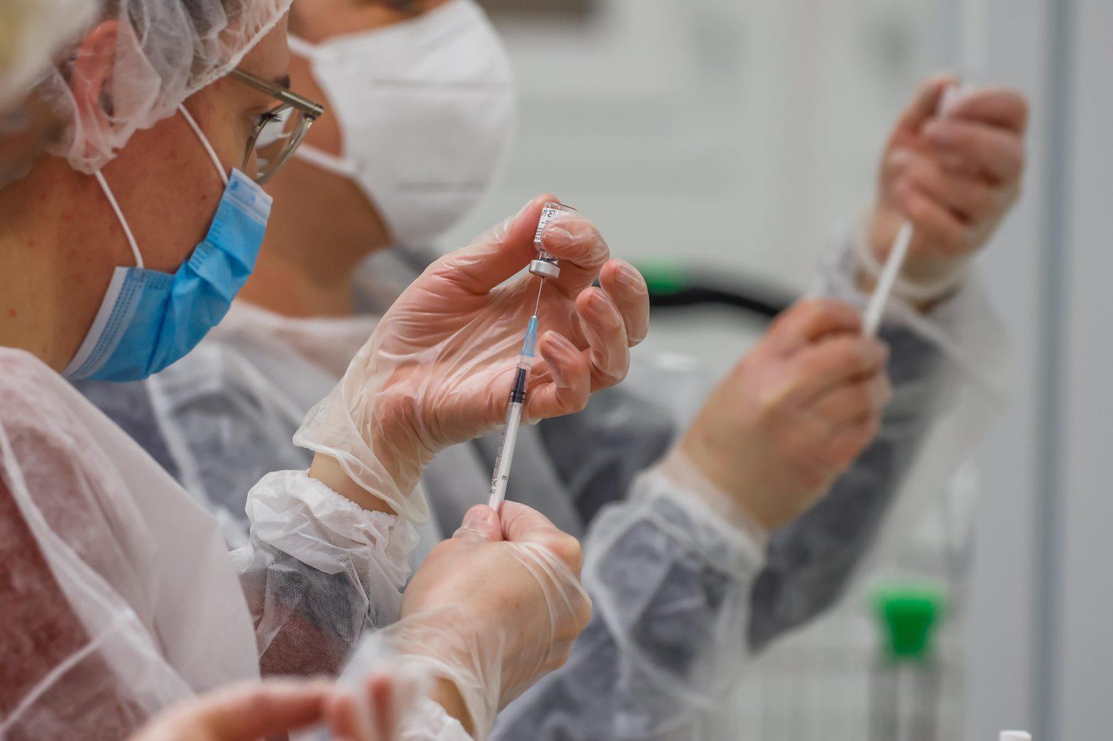 Eröffnung Impfzentrum Köln