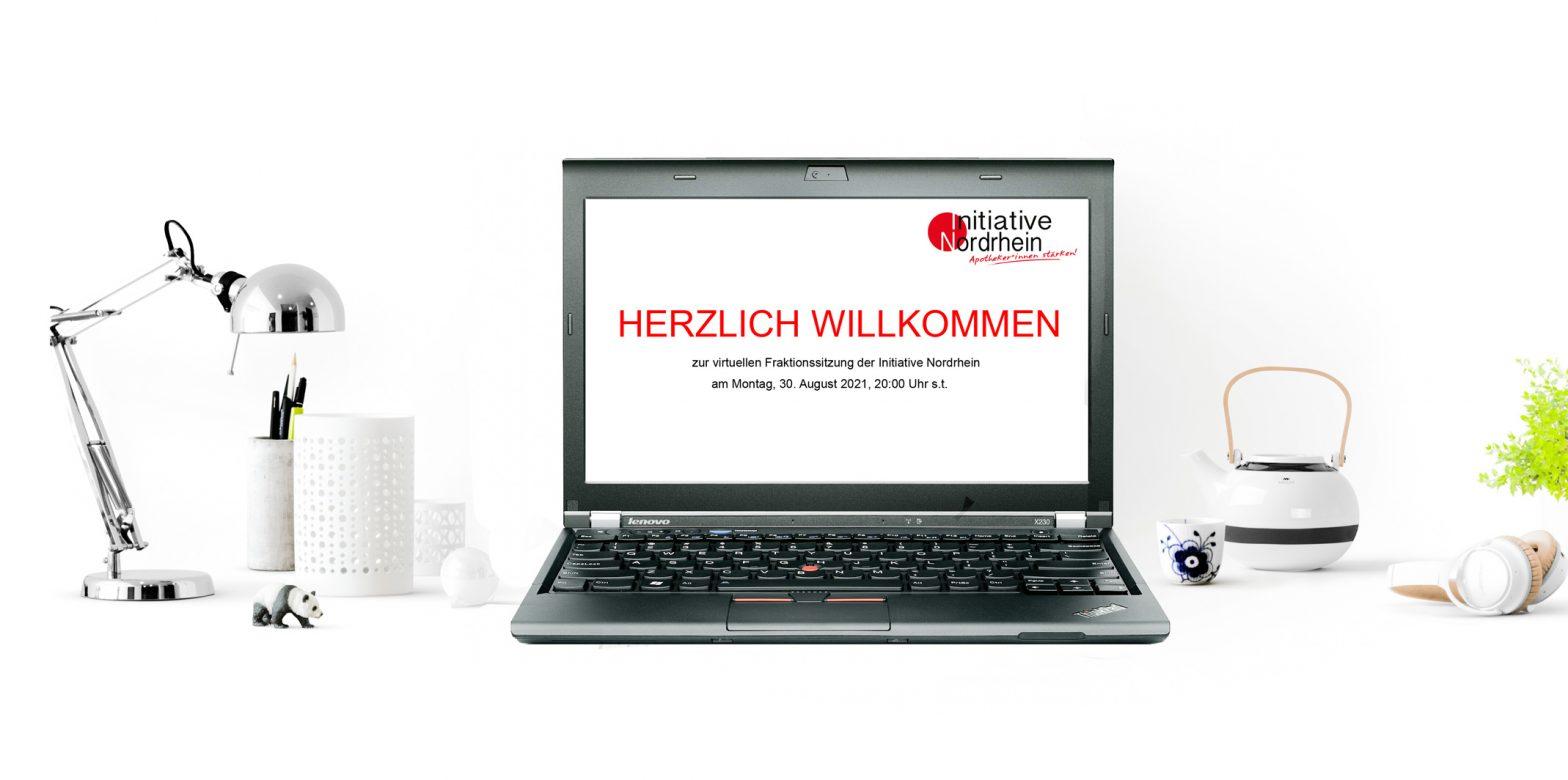 Virtuelle IN-Fraktionssitzung 30.08.2021